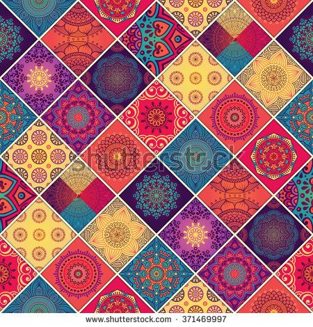 Seamless Pattern Vintage Decorative Elements Oriental Pattern Vector Illustration Islam Arabic Iphone Wallpaper Pattern Mandala Wallpaper Art Wallpaper