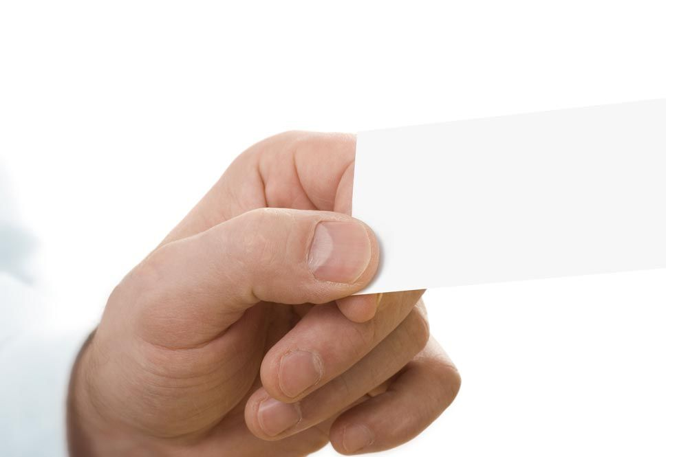 Hand holding a business card 10 free mockups to download | Hand ...