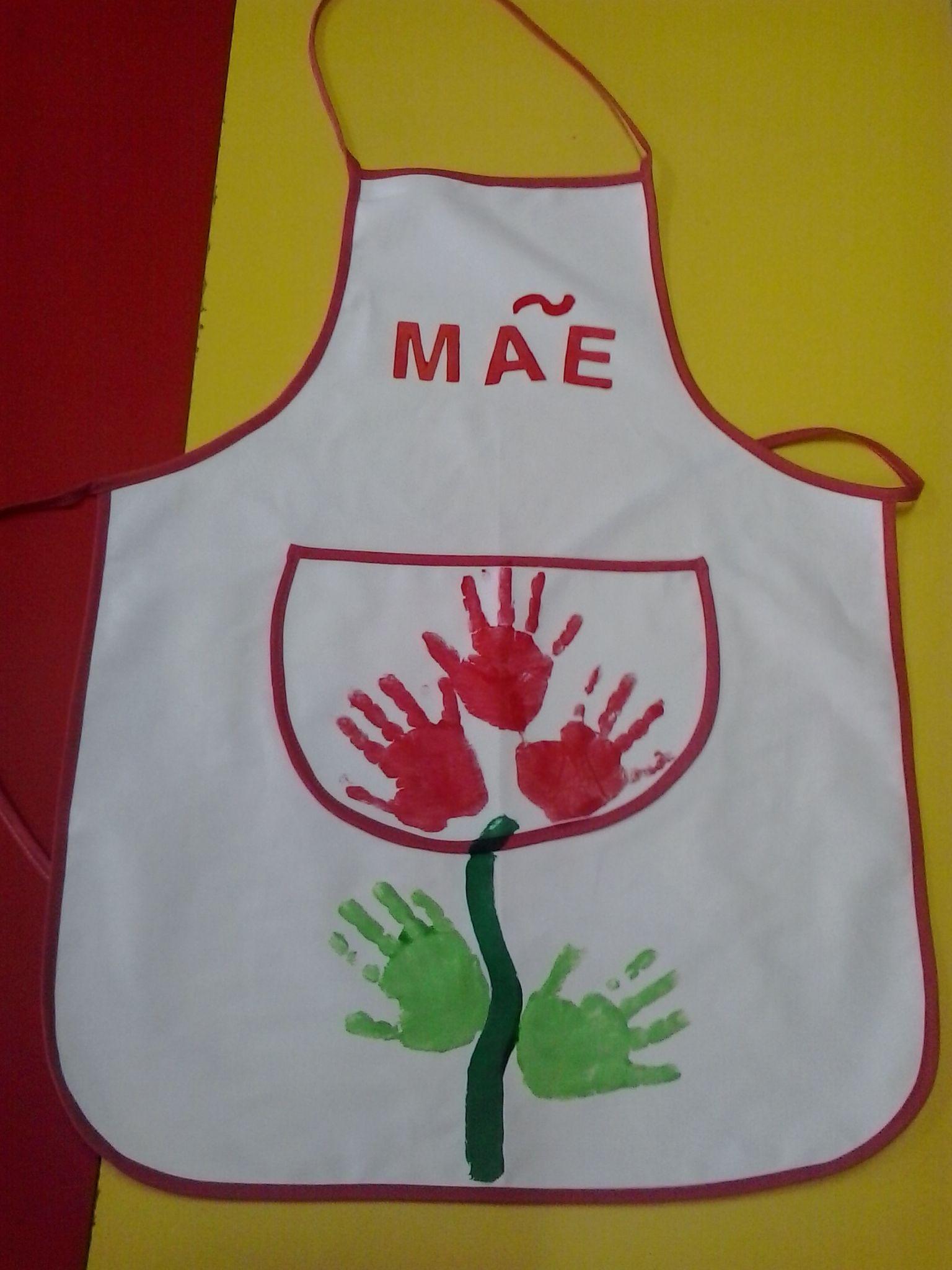 cfcba5992 avental Dia Da Criança, Dia Das Mães, Lembrancinha Dia Dos Pais, Dia Da