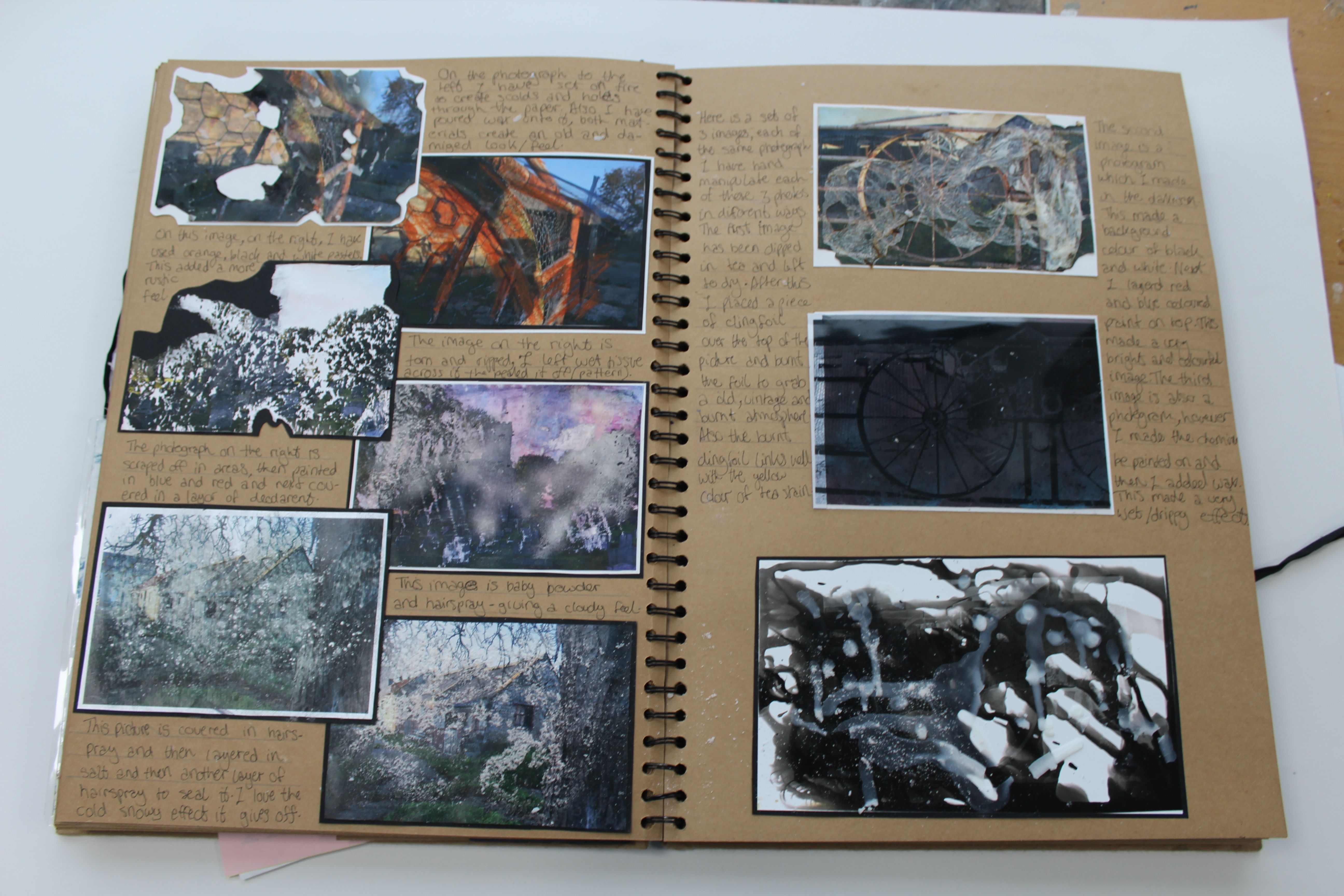 A2 Fine Art A3 Brown Sketchbook Hand Manipulations Esa Truth Fantasy Or Fiction Thomas Rotherham Col Photography Sketchbook Sketch Book Sketchbook Inspiration