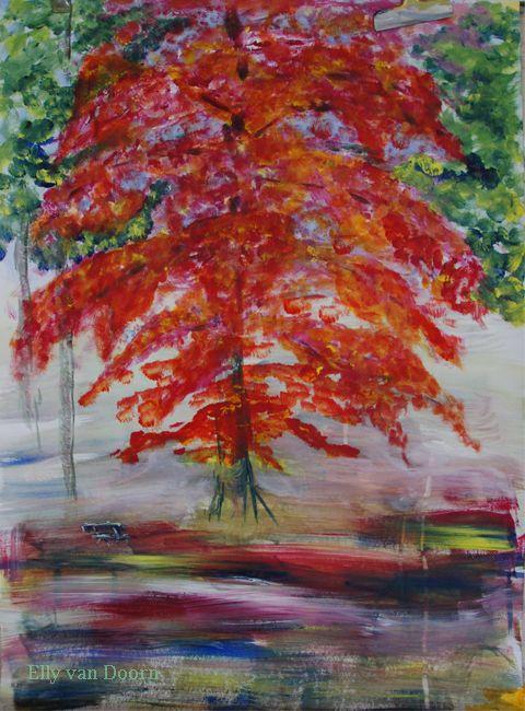 ...schilderijen: Rode beuk