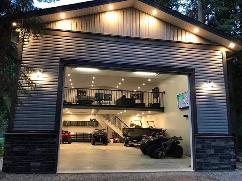 Nice Garage Shop Setup Garage Design Garage House Metal