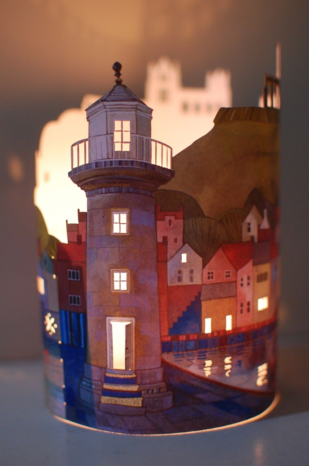 Whitby Lantern by Kate Lycett - Radiance
