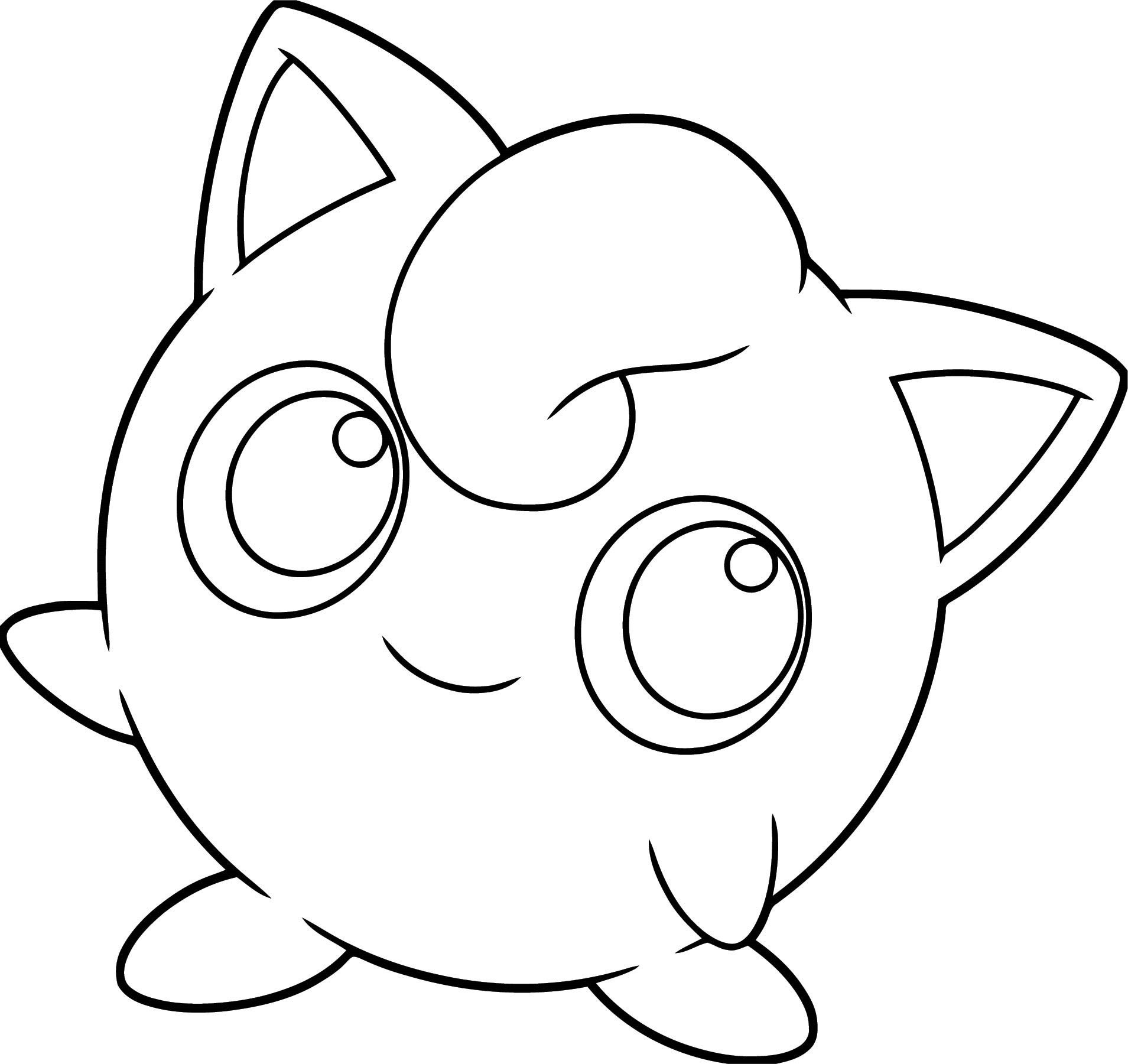 Pokemon Go Jigglypuff Coloring Sheets For Kids Coloring Pages Pokemon Coloring Pages Pokemon Jigglypuff