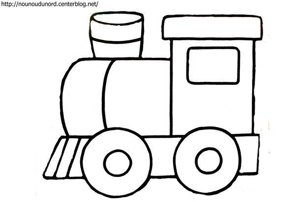 Coloriage Train Dessine Par Nounoudunord Coloriage Train Dessin