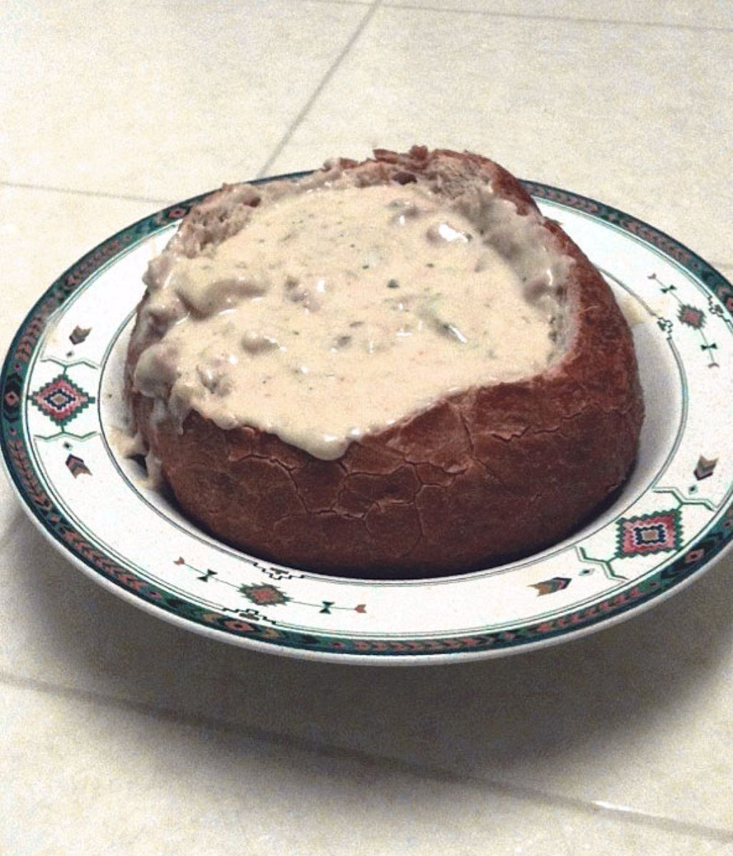 Outback Steakhouse Clam Chowder...I had this at the restaurant and can't wait to make it at home!!!