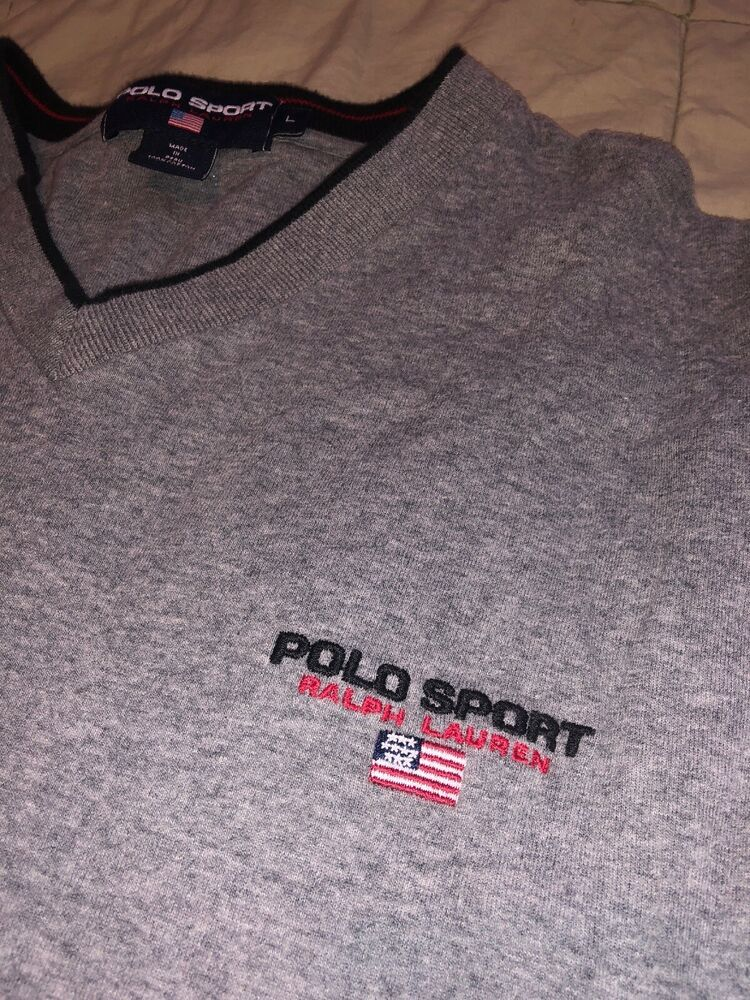 710495161aa Polo Ralph Lauren Sport Sweater L  fashion  clothing  shoes  accessories   mensclothing