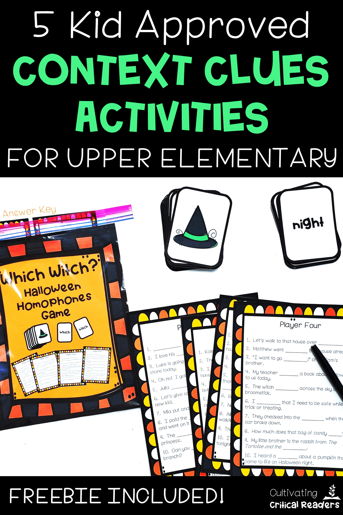 5 Kid Approved Context Clues Activities For Upper