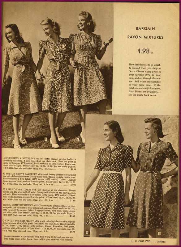 1940s Wardrobe Essentials Page 7 Wardrobe Essentials 1940s 1940s Fashion