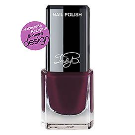 Lady B. Mini Nagellack Dark Bordeaux #marsala