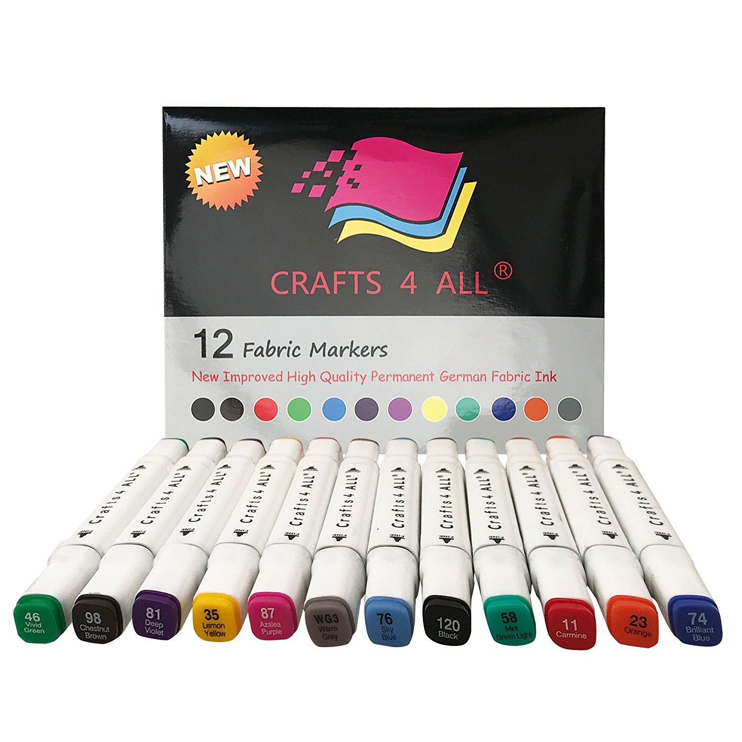Pin by Suzanna on art supplies | Pinterest | Fabric markers