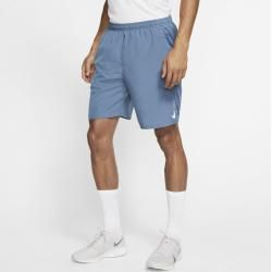 Photo of Nike Challenger men's running shorts with integrated briefs (approx. 23 cm) – blue Nike
