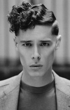 Crazy Futuristic Hairstyles Men Google Search 1920s Mens Hair Mens Hairstyles Haircuts For Men