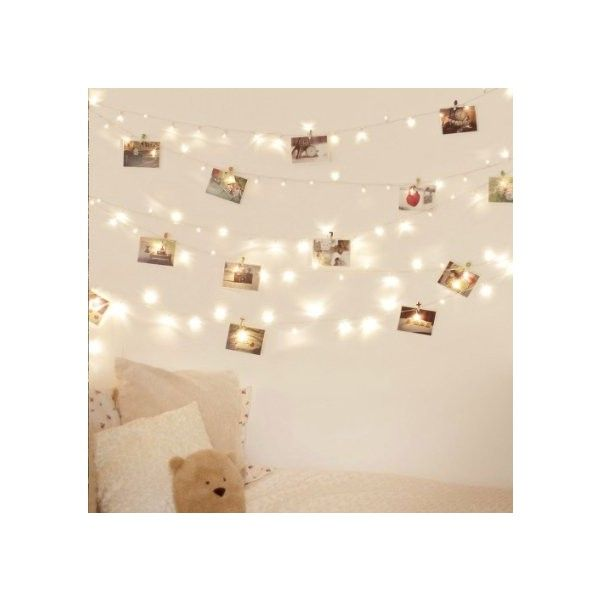 [2 Pack] 40 LED Indoor Battery Fairy Lights Warm White for Christmas... (560 DOP) ❤ liked on Polyvore featuring home, home decor, holiday decorations, battery christmas tree lights, festive home decor, battery operated christmas tree lights and battery powered christmas tree lights