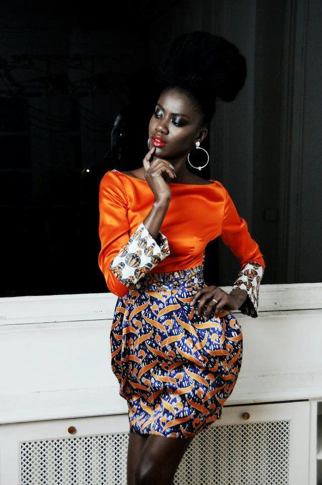 Fatou Noba by Mario Epanya for Eki Orleans