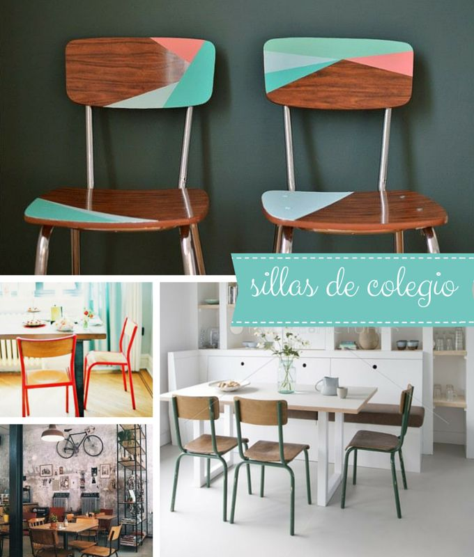 De Colegio Para Back To DecorarDeco SchoolSillas Ybf6gv7y