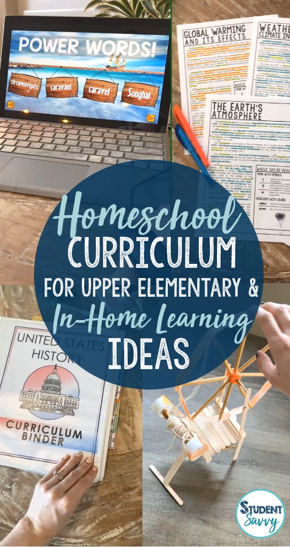 I believe that every child can have a successful learning experience (whether at home or in school) when given the right tools and resources! I will describe some of my most useful and engaging tools for the upper elementary classroom and/or at-home/homeschooling