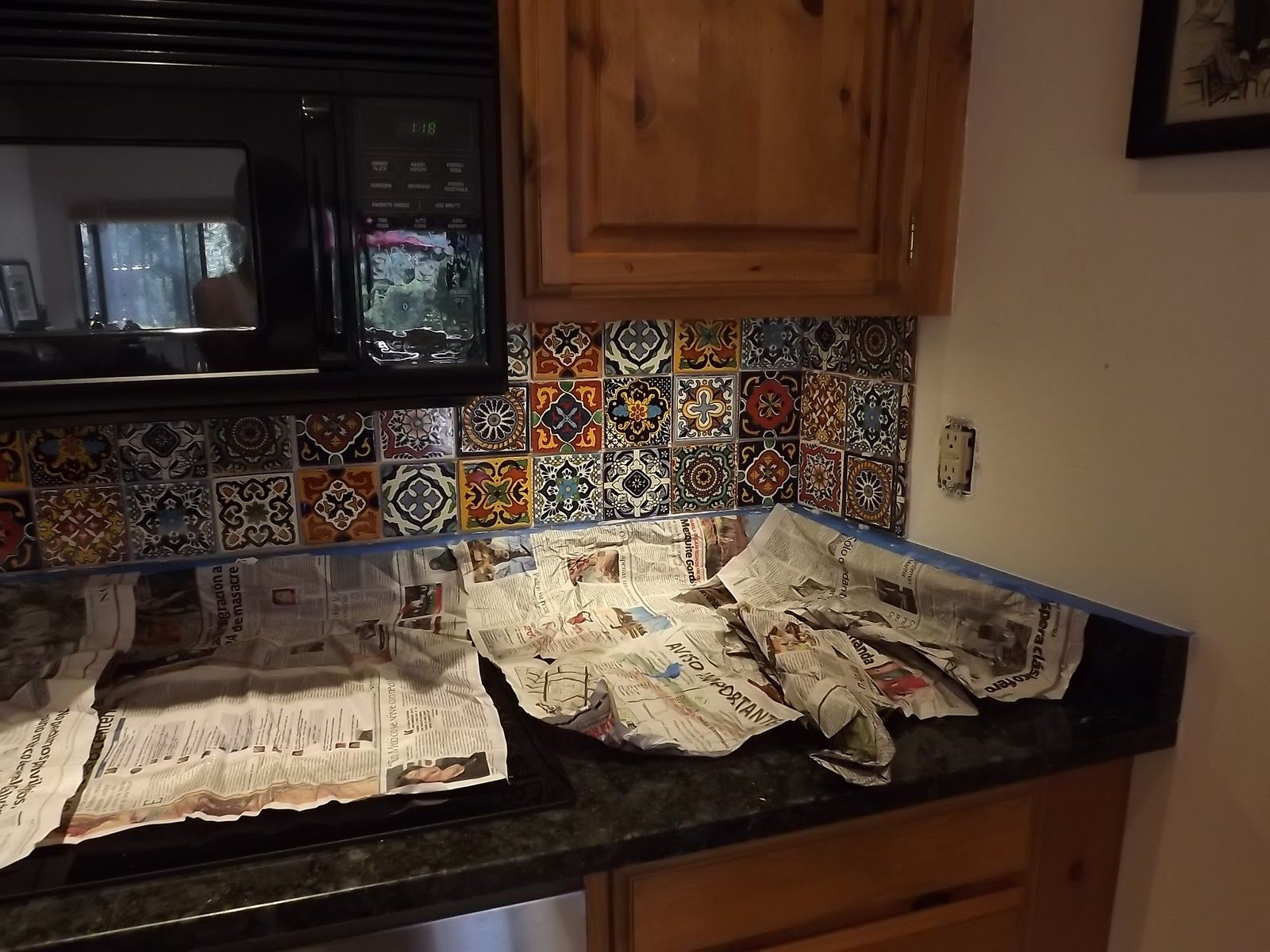 Dusty Coyote: Mexican Tile Kitchen Backsplash DIY | For Mary ...