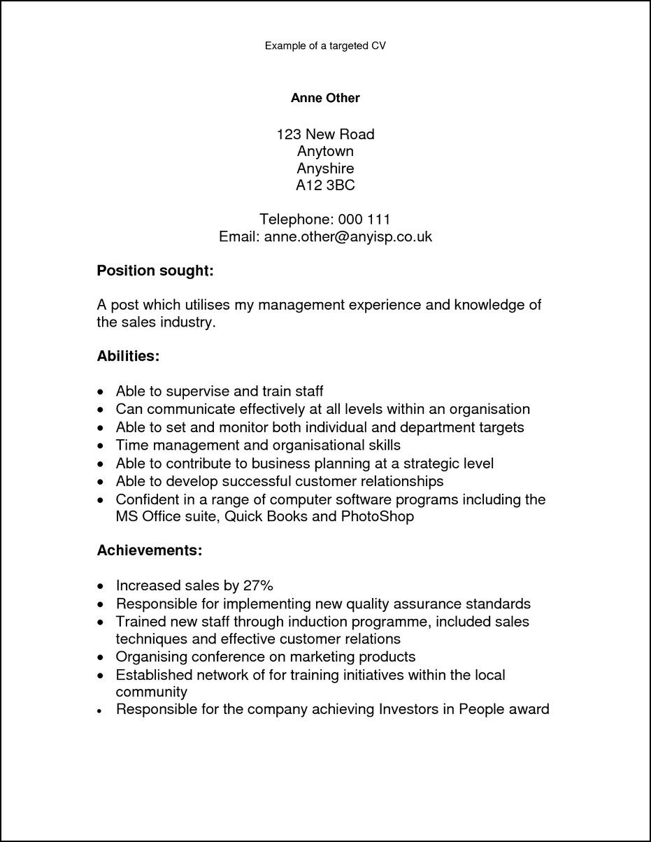 What Is The Skills And Abilities On A Resume Perfect