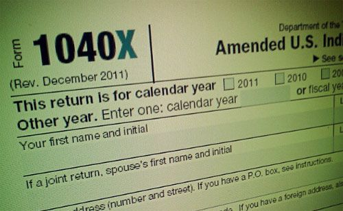 Made a Mistake? Here\u0027s How To Amend a Tax Return Pinterest - personal financial statement forms