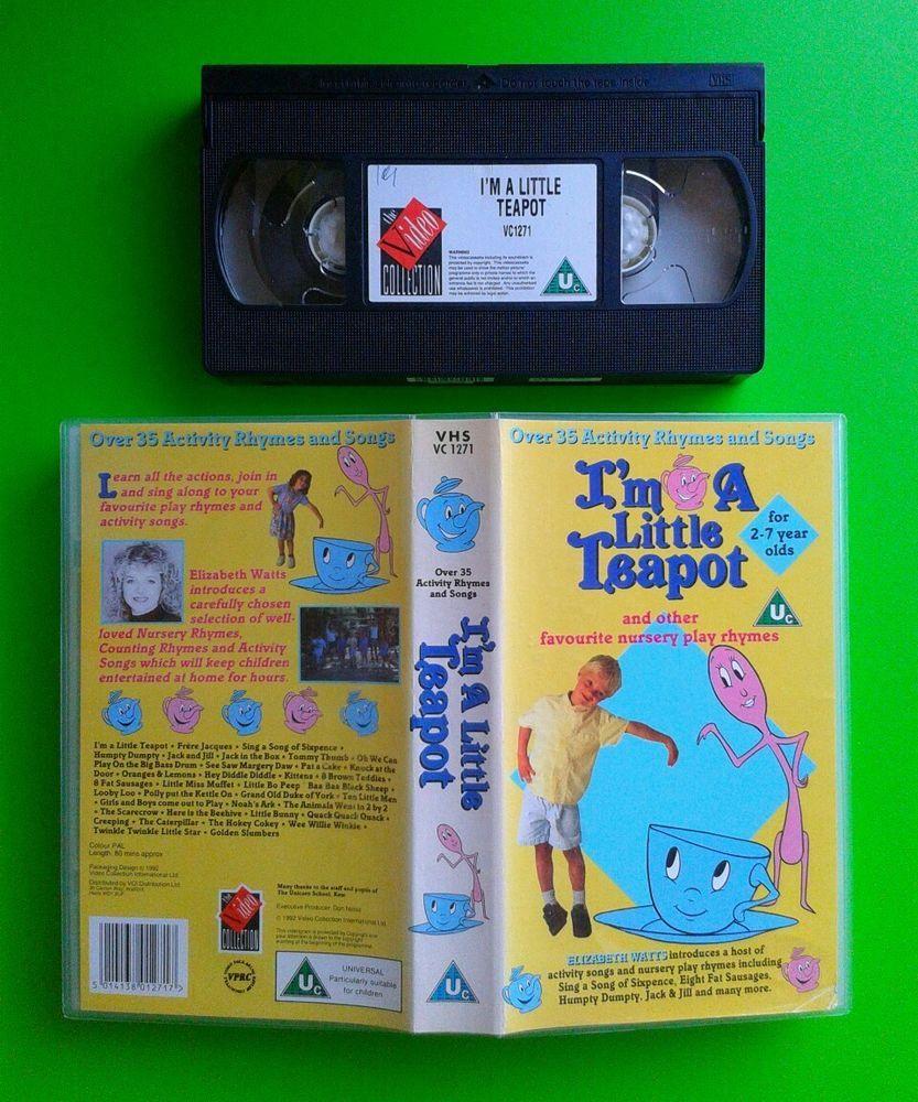 Im A Little Teapot / Video 80mins 35 Nursery Play Rhymes