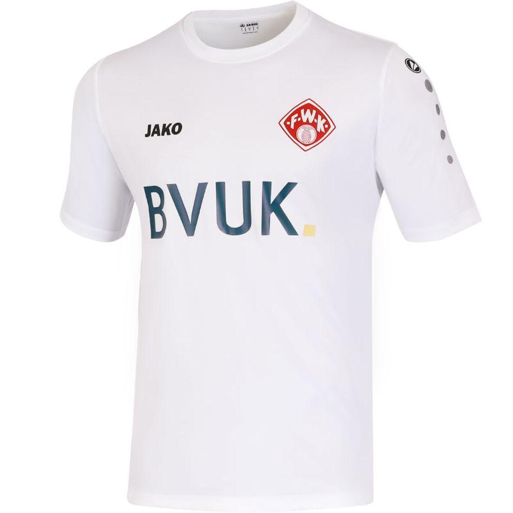 7f831bd34 Jako Football Soccer FC Wurzburger Kickers Kids Away Jersey Shirt 2018 2019  Whit (eBay Link)
