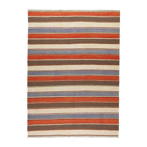 PERSISK KELIM GASHGAI Teppe, flatvevd, blandede mønstre håndlaget blandede mønstre