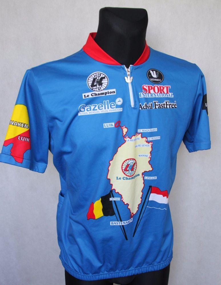Mens  VERMARC  Le Champion Belgium Holland Retro Cycling Jersey XXXXL   58    8  Vermarc e789b45d7
