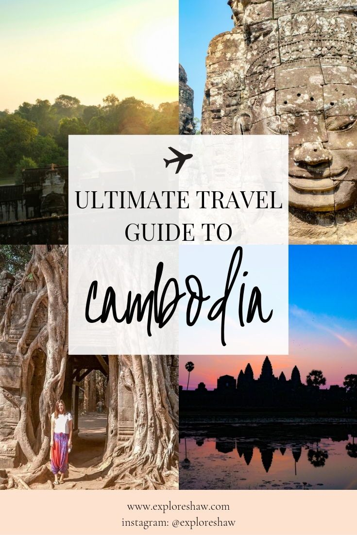 The ultimate travel guide to Cambodia with everything you need to know to start planning your visit - including a guide to the temples of Angkor. #Cambodia