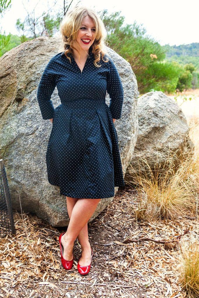 Winifred dress – Bluegingerdoll - Vintage Inspired Sewing Patterns ...