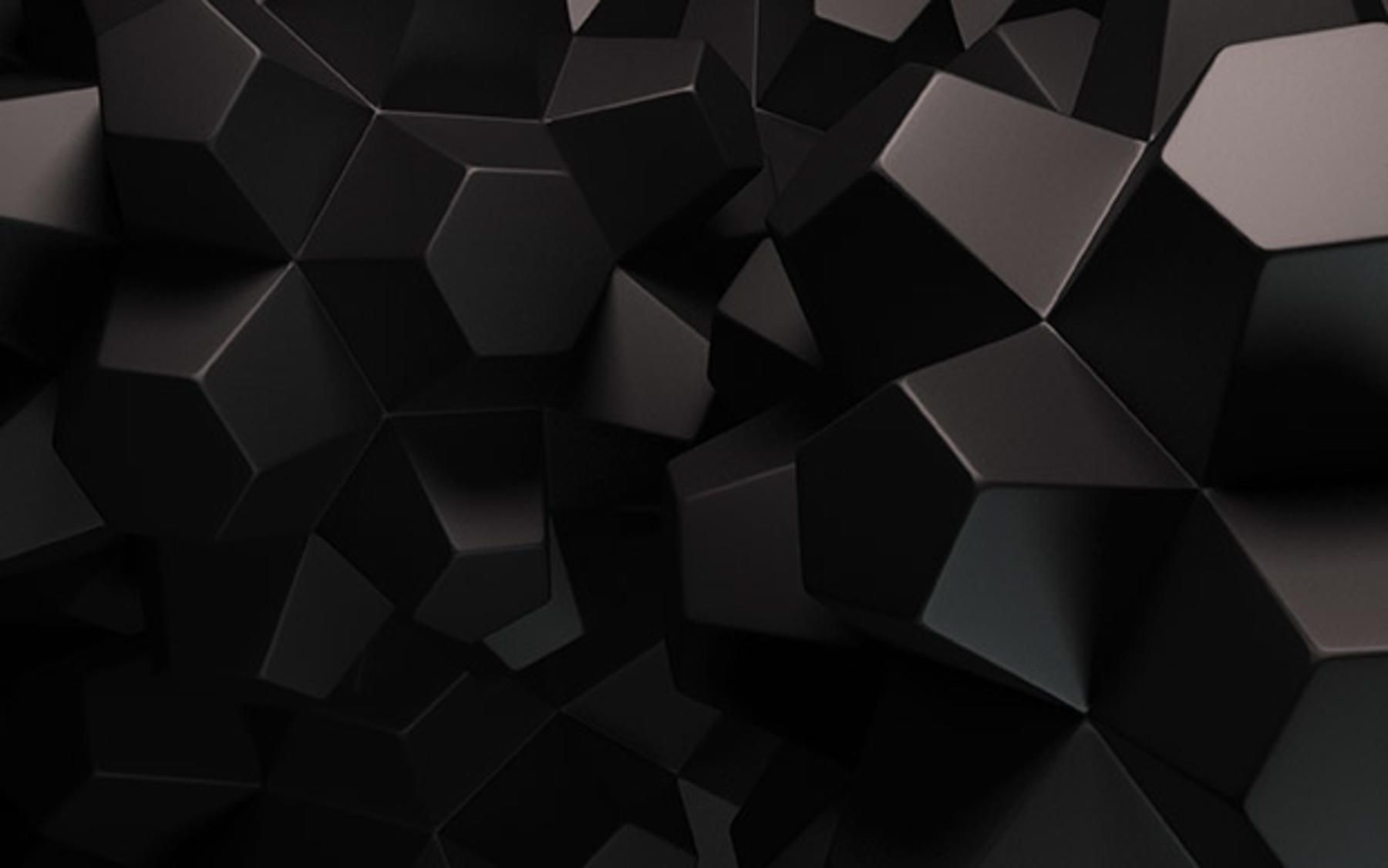 Black Blocks Wallpaper.