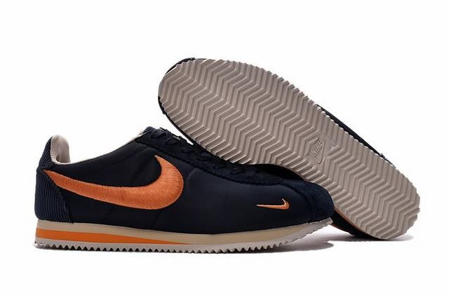 watch 1f1a6 8f52c nike classic cortez nylon yellow nike classic cortez ultra bleu et orange  femme