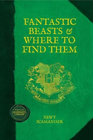 Mini Reviews The Hogwarts Library Fantastic Beasts Book Harry Potter Book Covers Fantastic Beasts