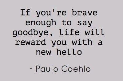 say goodbye...