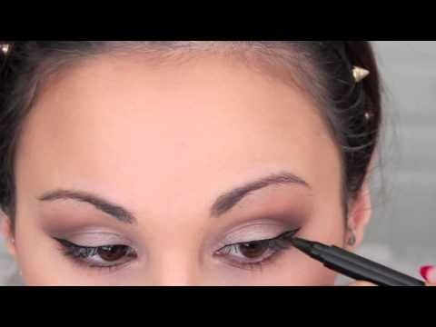 every day makeup tutorial using too faced natural eye