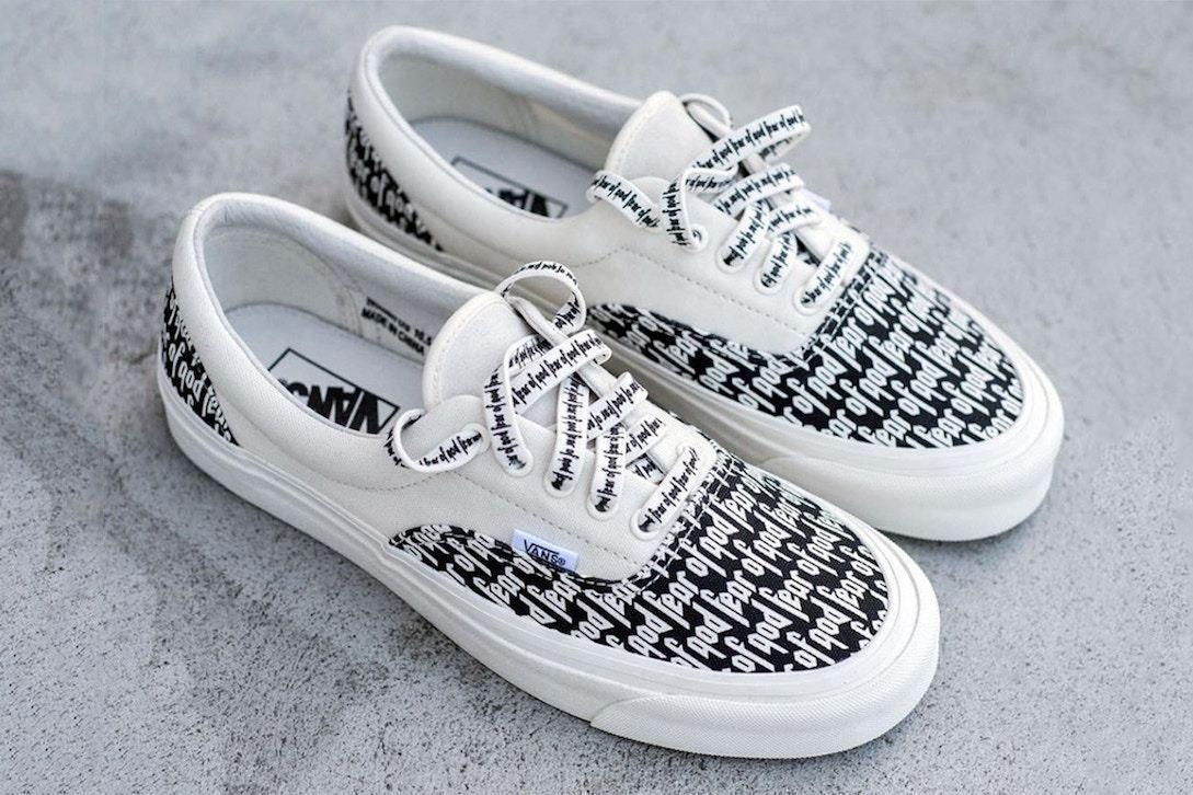 Vans Fear Of God Vans Marshmallow Size Us 11 Eu 44 Mens Vans Shoes Hype Shoes Vans