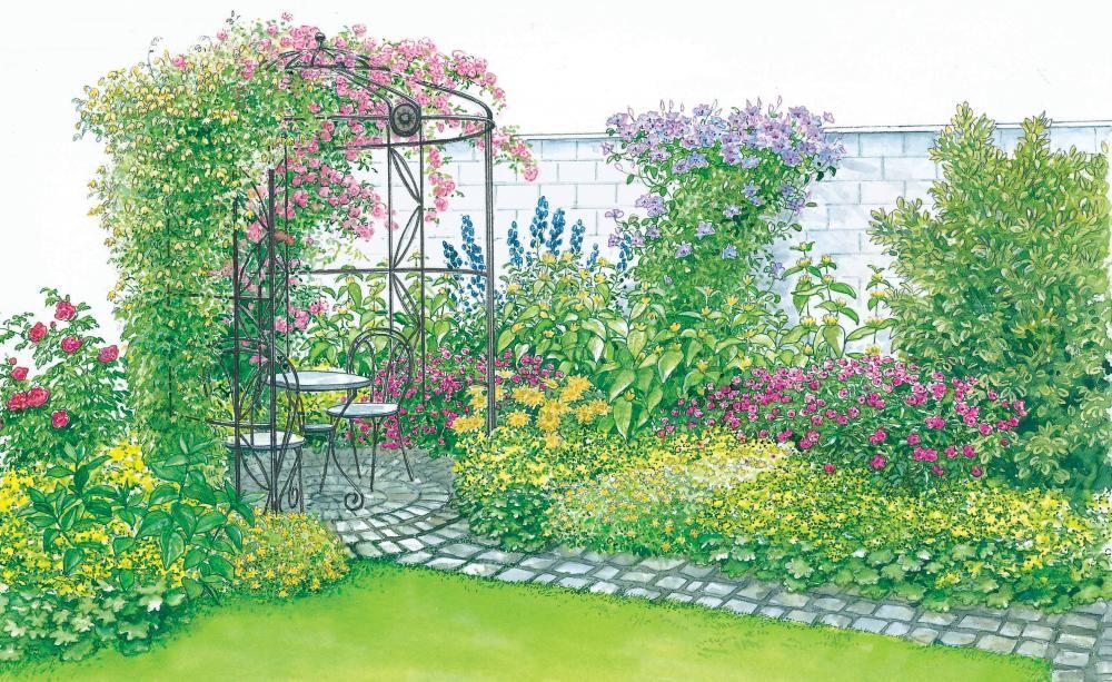 Gartenhof In Neuem Look Garten Gartendesign Ideen Garten Design