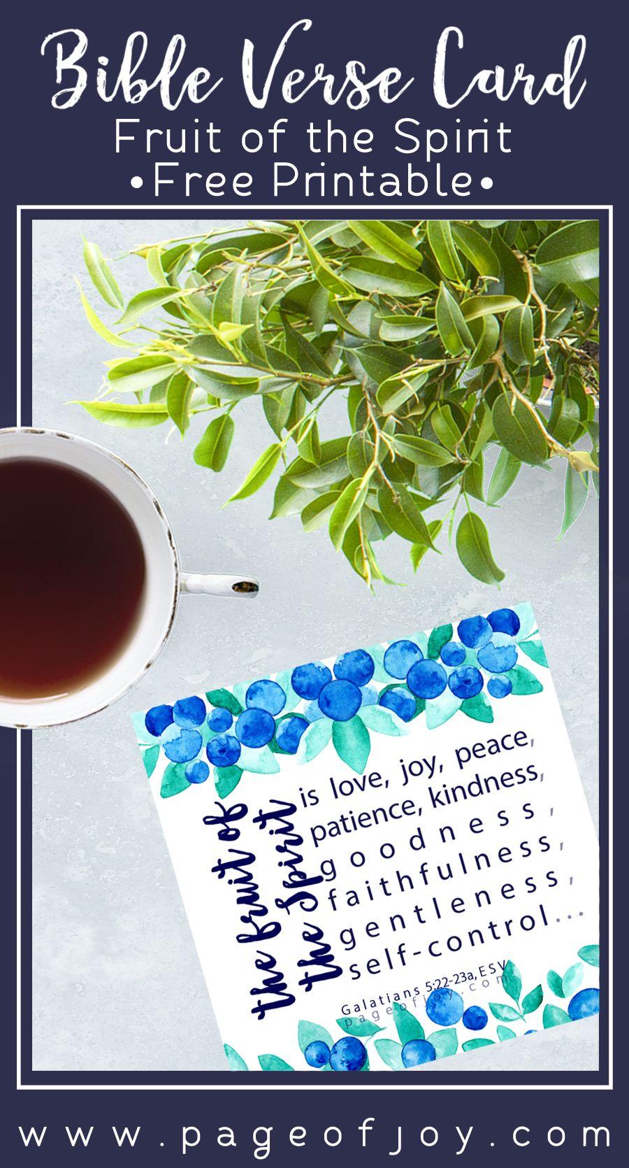 Fruit of the spirit fruit of the spirit verses for