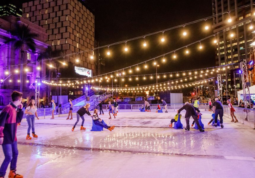 Melbourne Is Getting Two Pop Up Ice Skating Rinks For Winter Backyard Ice Rink Outdoor Ice Skating Ice Skating