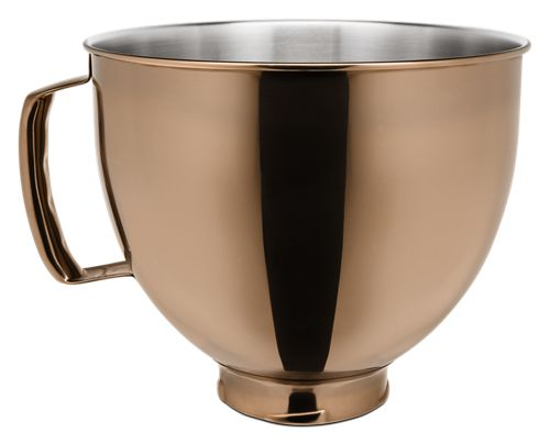 Specialty Appliances Find a Niche That Matches Your Specialty Appliances-Kitchenaid - 5-quart Stainless Steel Bowl - Copper