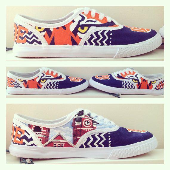 Auburn tigers custom painted spirit