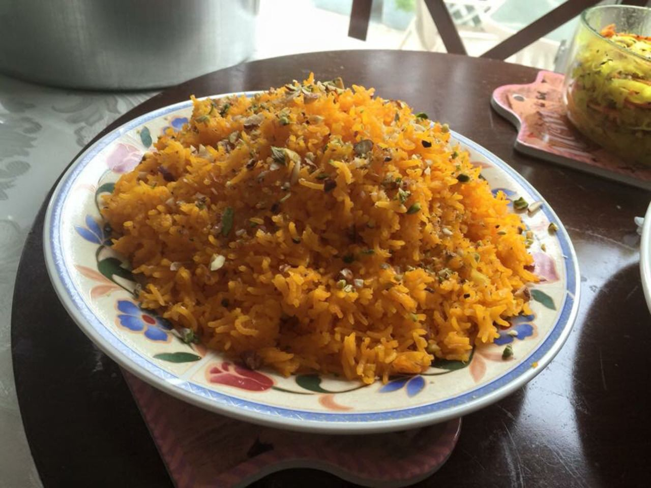 Naz Home Kitchen — Sunday Indian breakfast.  Sweet rice fried roti...