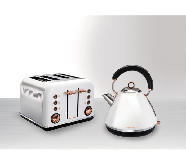 Morphy Richards Accents 102106 Traditional Kettle White