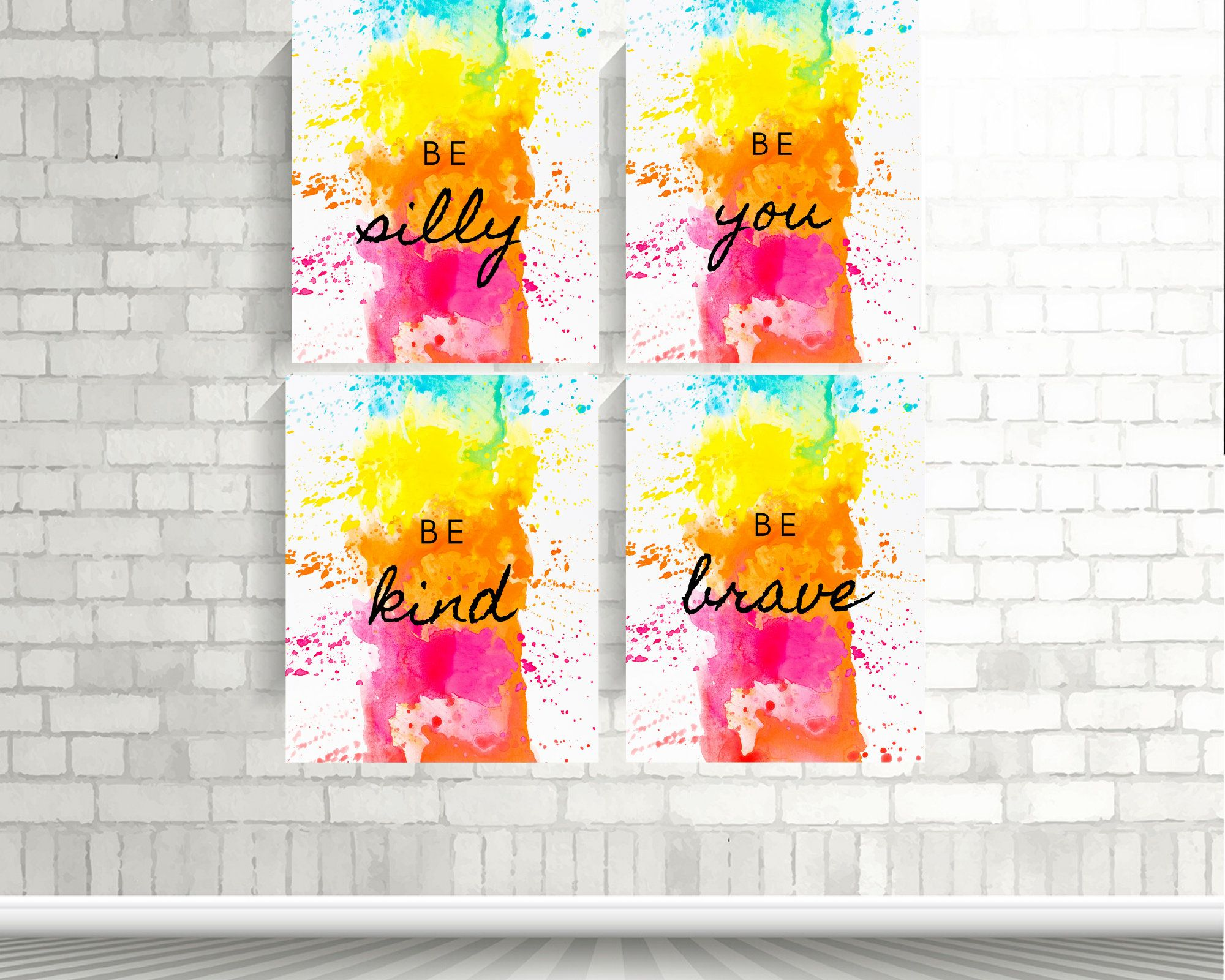 Excited To Share The Latest Addition To My Etsy Shop Girls Bedroom Prints Printable Wall Art Girl Roo In 2020 Unicorn Wall Art Girls Room Wall Art Colorful Wall Art