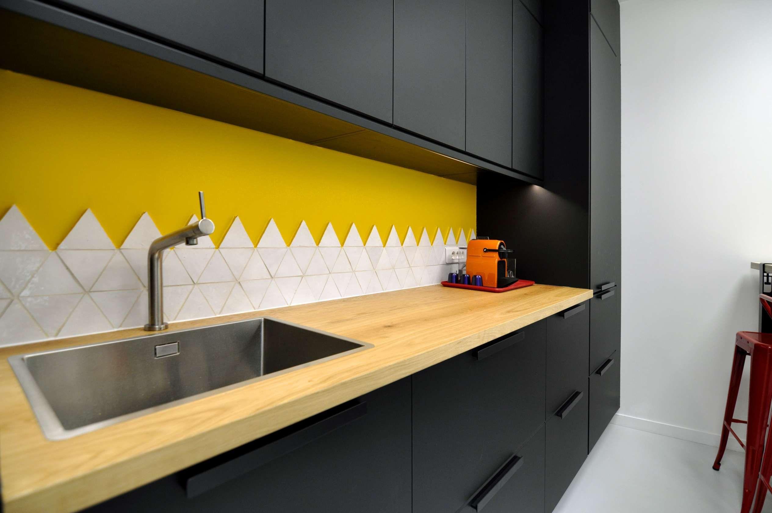 15+ Cuisine Noir Et Jaune - Designs de chambre, Designs de salle à