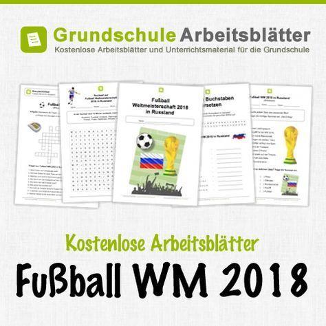 Kostenlose Arbeitsblätter und Unterrichtsmaterial zum Thema Fußball ...