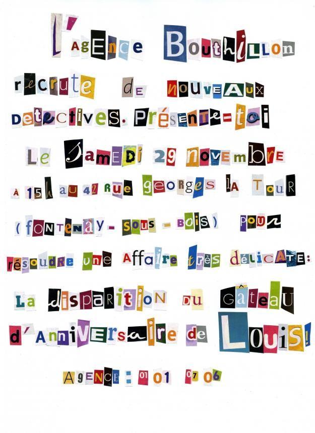 Gut bekannt Épinglé par Cheewy Girl sur Anniversaire enquête | Pinterest  EP82