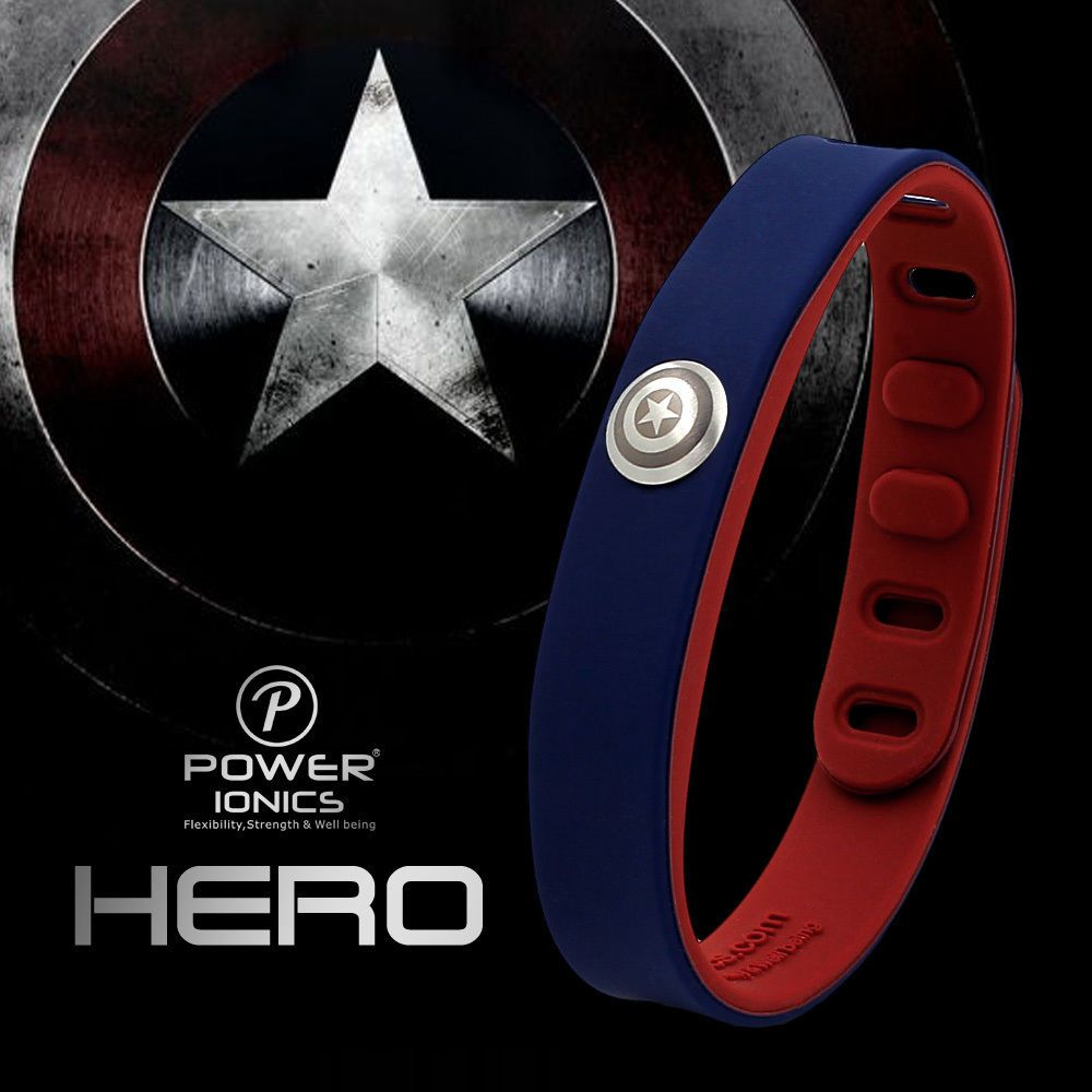 c14de125e16 Hero power ionics íons de 3000 idéia titanium pulseira de esportes da banda  pulseira de equilíbrio do corpo humano em Pulseiras holograma de Jóias ...