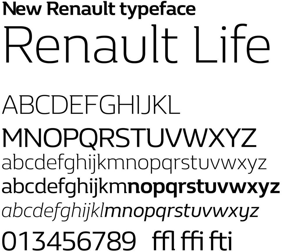 Brand New New Logo And Identity For Renault Done In House Diseño De Logotipos E Identidades Tipografía Eslogan