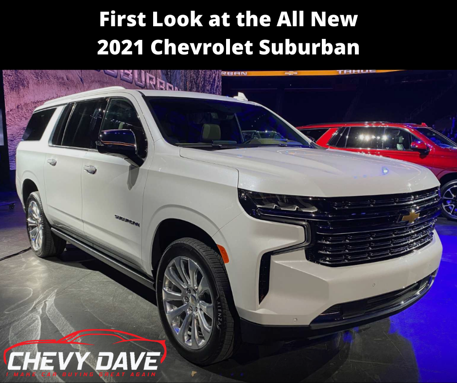 Check out the all new redesigned 2021 Chevy Suburban.